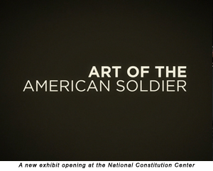A new exhibit opening at the National Constitution Center